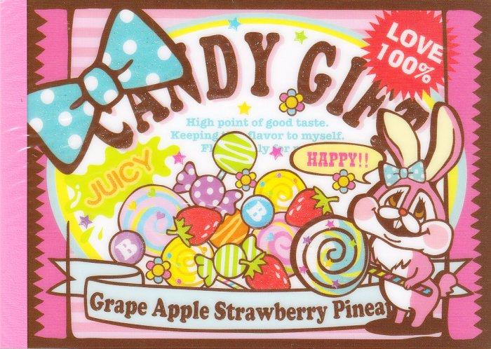 Kamio Japan Candy Gift Regular Memo