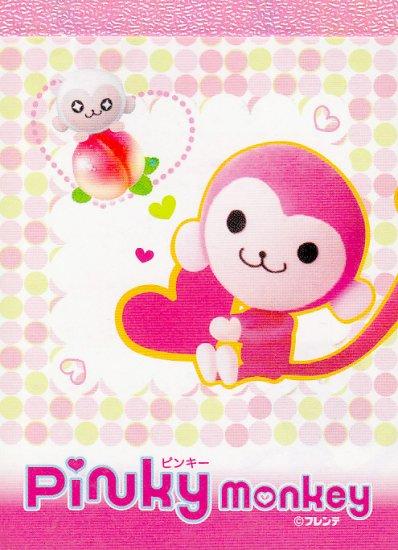 Sakamoto Co Pinky Monkey mini memo
