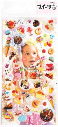 Crux Delicious Desserts sticker sheet