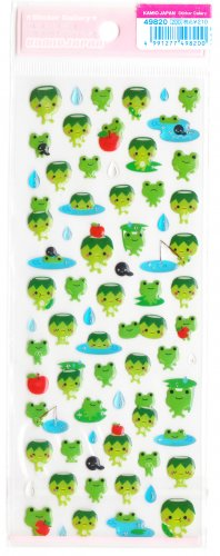 Kamio Japan Water Kappa sticker sheet