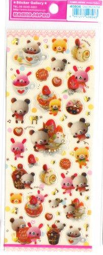 Kamio Japan Cafe Cafe Sticker Sheet