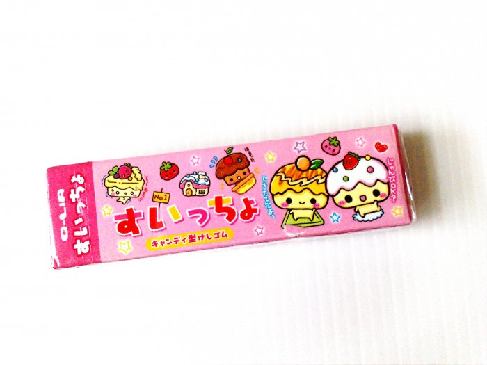 Q-Lia Cake Chan 5 Piece Eraser