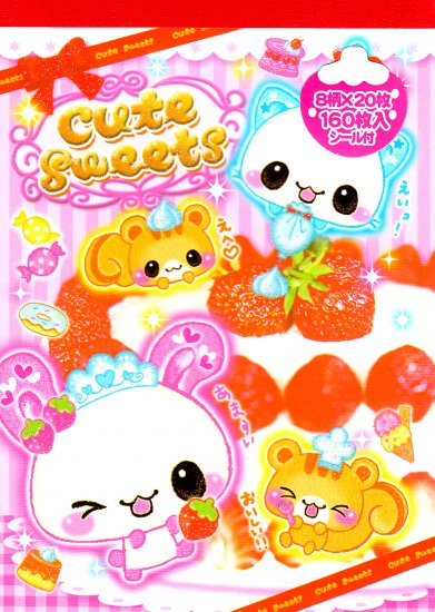 Crux Cute Sweets regular memo
