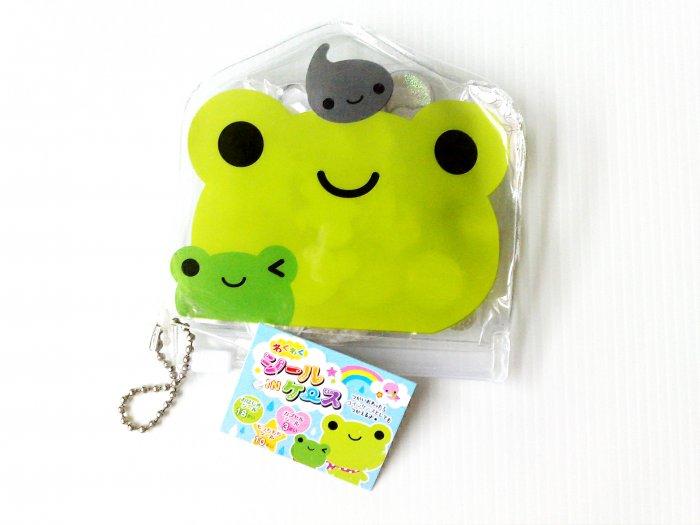 Q-Lia Seal In Case Fun Frog Sticker Sack