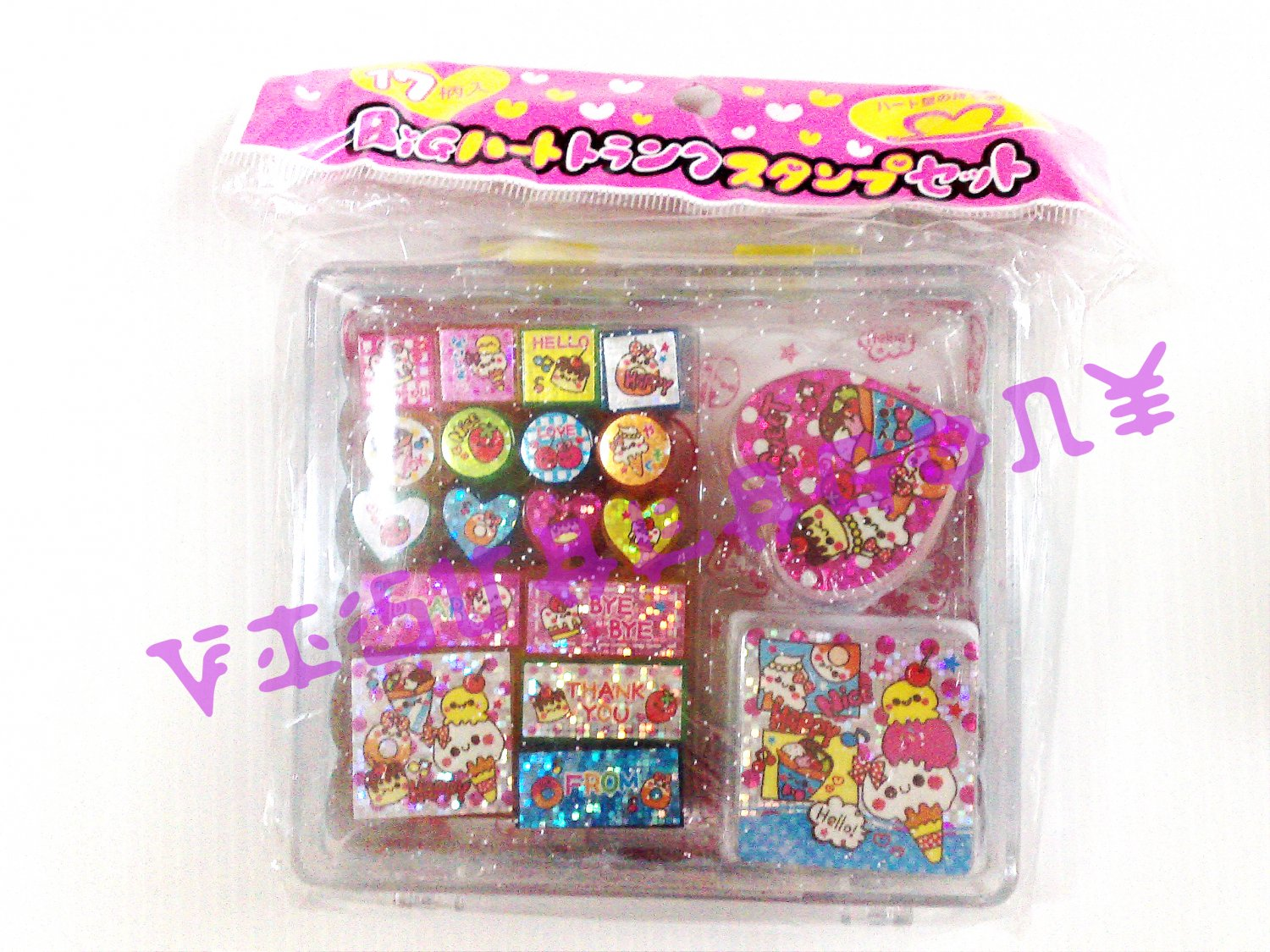 Kamio Delicious Sweet Stamp Set