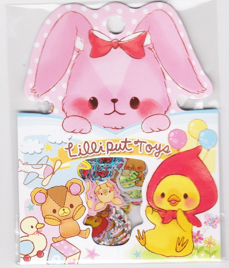 Kamio Japan Lilliput Toys Sticker Sack