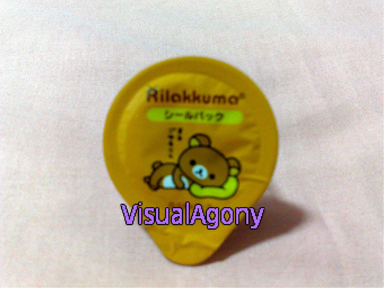San-X Rilakkuma Sticker Flakes in Cup