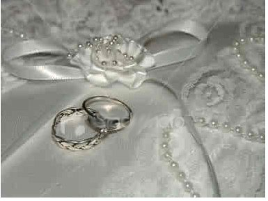 Pretty lace and rings