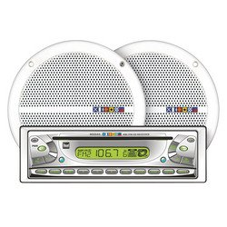 """Dual 30W x 4 Receiver and 6 1/2"""" Speakers"""