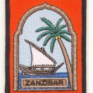 ZANZIBAR DHOW - PATCH - EMBROIDERED BADGE