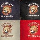 SERENGETI TANZANIA LION BASEBALL CAPS/HATS