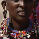 AFRICAN MAASAI (MASAI) TRADITIONAL EARRINGS - KENYA