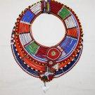 AFRICAN MAASAI (MASAI) COLLAR NECKLACE -KENYA -RARE #12