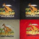 TANZANIA GIRAFFE BASEBALL CAPS/HATS
