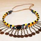 AFRICAN MAASAI (MASAI) BEAD CHOKER NECKLACE - MARA #13