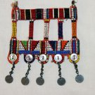 AFRICAN MAASAI (MASAI) BEAD NECKLACE/PENDANT -KENYA #53