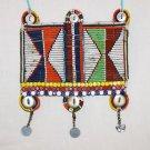 AFRICAN MAASAI (MASAI) BEAD NECKLACE/PENDANT -KENYA #48