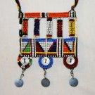 AFRICAN MAASAI (MASAI) BEAD NECKLACE/PENDANT -KENYA #31