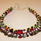 AFRICAN MAASAI (MASAI) BEAD CHOKER NECKLACE - MARA #07