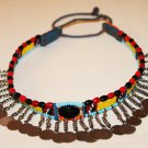 AFRICAN MAASAI (MASAI) BEAD CHOKER NECKLACE - MARA #03