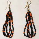 MAASAI (MASAI) BEADED EARRINGS - MULTI - MADE IN KENYA
