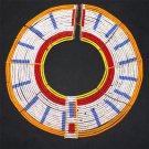 AFRICAN MAASAI (MASAI) COLLAR NECKLACE - TZ  - RARE #01