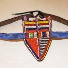 AFRICAN ANTIQUE MAASAI (MASAI) MORAN BEADED BELT - KE