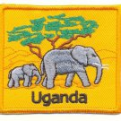 UGANDA ELEPHANTS - PATCH - EMBROIDERED BADGE