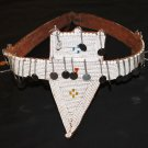 AFRICAN ANTIQUE MAASAI (MASAI) MORAN BEADED BELT - TZ