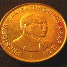 KENYA 50 CENTS COIN - MOI - 1997 (UNC)
