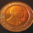 KENYA BIMETAL 20 SHILLING COIN - MOI - 1998 (UNC)