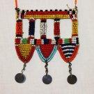 AFRICAN MAASAI (MASAI) BEAD NECKLACE/PENDANT -KENYA #79