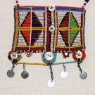 AFRICAN MAASAI (MASAI) BEAD NECKLACE/PENDANT -KENYA #77