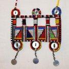 AFRICAN MAASAI (MASAI) BEAD NECKLACE/PENDANT -KENYA #69
