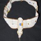 AFRICAN MAASAI (MASAI) BEAD HEAD CROWN TIARA - TZ #09