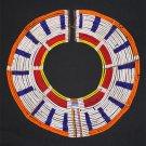 AFRICAN MAASAI (MASAI) COLLAR NECKLACE - TZ  - RARE #13