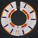 AFRICAN MAASAI (MASAI) COLLAR NECKLACE - TZ  - RARE #12