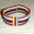 AFRICAN MAASAI (MASAI) BEAD ARM CUFF -STRING -KENYA #08