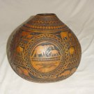 BEAUTIFUL DECORATIVE GOURD - HANDMADE IN KENYA - LARGE