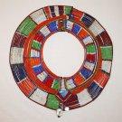 AFRICAN MAASAI (MASAI) COLLAR NECKLACE -KENYA -RARE #10