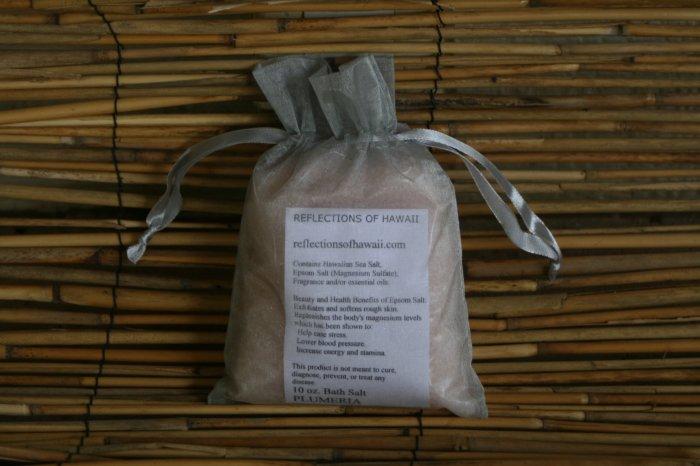 Hawaiian fragranced bath salts - mix and match - set of 3 (2.5 oz each)