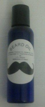 Beard - shave oil for men Leather 2 oz -