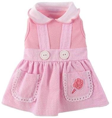 Dog Clothes Sweet Cotton Candy Couture Dress