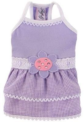 Dog Clothes Sunshine Lilac Dress