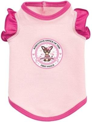Dog Clothes Pink Executive Office of First Pooch Tank