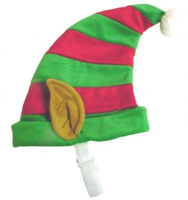 Dog Toys Adorable Elf Hat With Ears