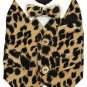 Dog Clothes Beautiful Gold Sequined Velvet Dress
