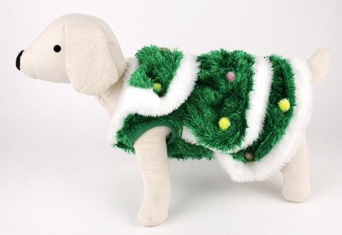 Dog Clothes ADORABLE Christmas Tree Costume