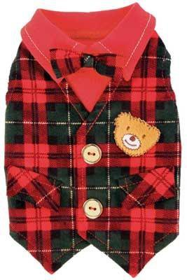 Dog Clothes Adorable Lil Teddy Vest