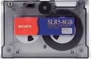 Sony SLR58GB - SLR/MLR, SLR5, Data Cartridge, 4/8GB